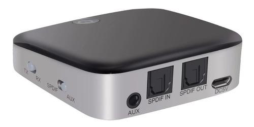 transmissor e receptor de áudio 2 em 1 bluetooth 4.1 optico