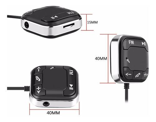 transmissor fm automotivo bluetooth mp3 player micro sd aux