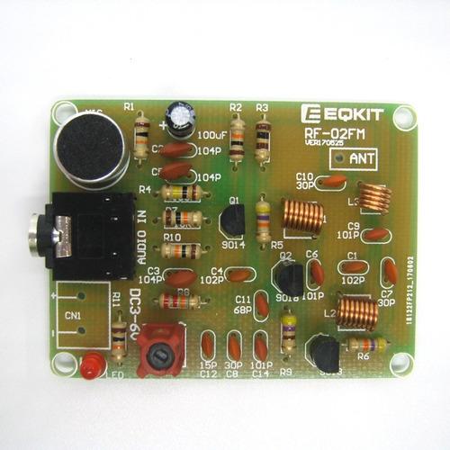transmissor fm kit eletrônica básica pra montar frete grátis