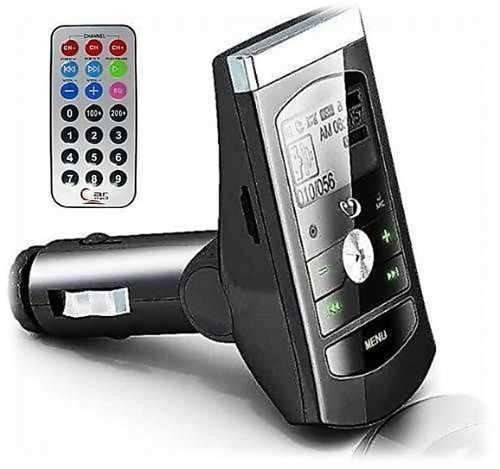 transmissor quadrosr fm wireless sem fio veicular carro mp3