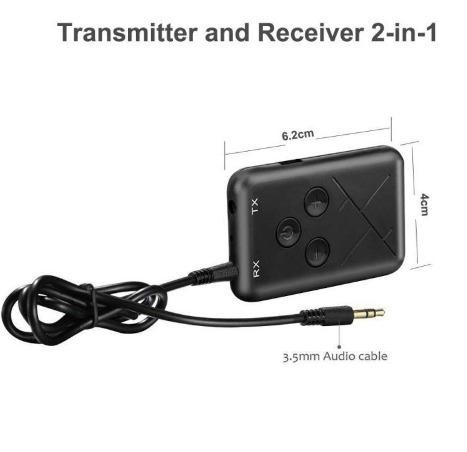 transmissor receptor bluetooth a2dp tv mp4 mp3 pc áudio