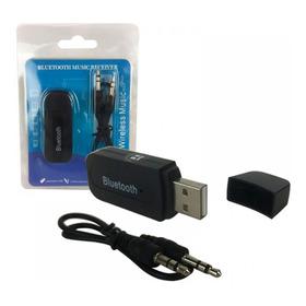 Transmissor Receptor Bluetooth Usb P2 Adaptador Musica Carro
