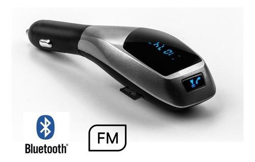 transmissor veicular fm mp3 usb bluetooth lê cartao memoria