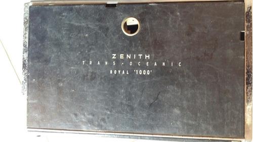 transoceanic zenith royal 1000 ( leia anuncio)