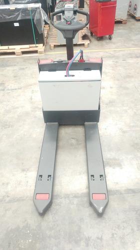 transpaleta eléctrica raymond 8210 + batería + cargador