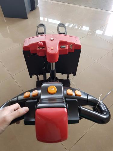 transpaleta zorra eléctrica 1500kg heli (pallet truck)