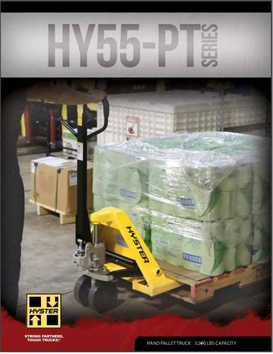 transpaletas hyster 2500 kg doble rueda nylon eeuu
