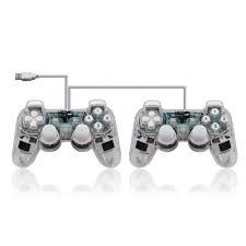 transparent wireless dual shock gamepad ...