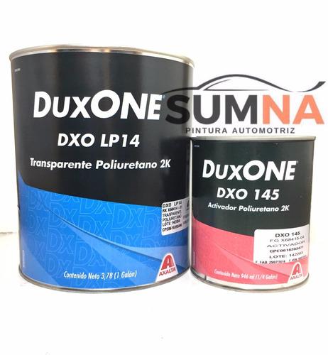 transparente dupont dxolp14 duxone (galon + 1/4 activador)