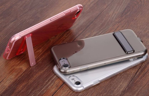 transparente stand case slim iphone7  7plus stock + delivery