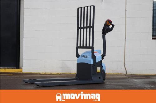 transportador de pallets eléctrico utilev.