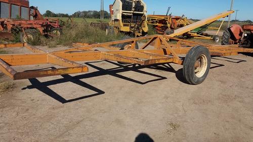transportador de rollos. 8 unidades. acoplado transportador