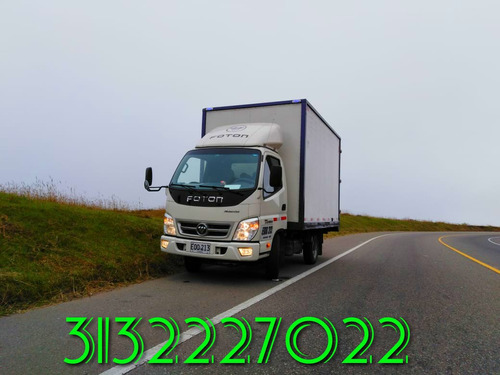 transportador furgón propio disponible camión conductor