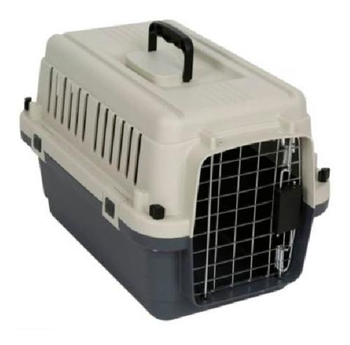transportador kennel para perro y gato l-50