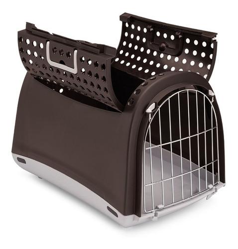 transportador para perro, gato. importado. hasta 6 kg