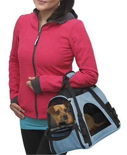 transportadora de mano maleta bolsa perro gato mediano avion