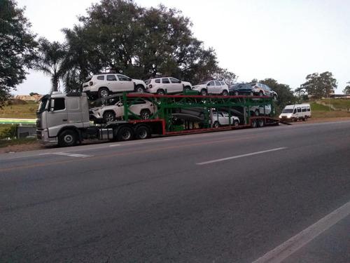 transportadora de veículos - cegonha