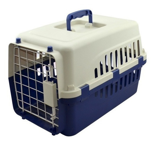 transportadora kennel 45x30x29 perros y gatos varios colores
