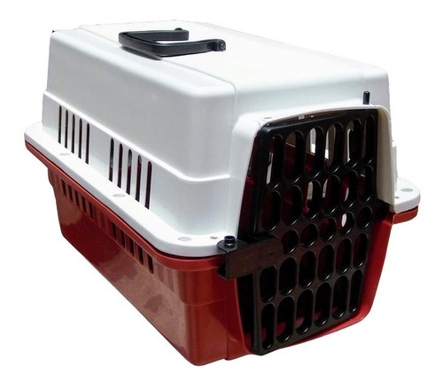 transportadora kennel 49x32x31 perros y gatos varios colores