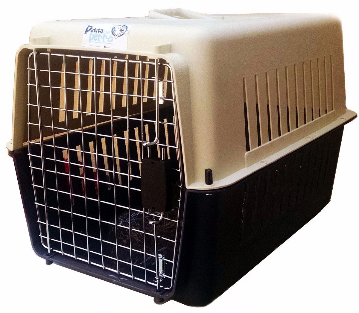 Las mascotas pueden viajar en canastillas para animales