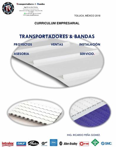 transportadores y bandas