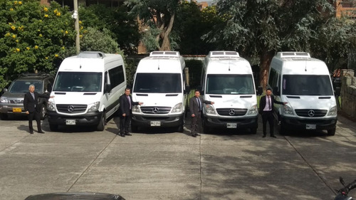 transporte alquiler de vans bogota turismo y eventos