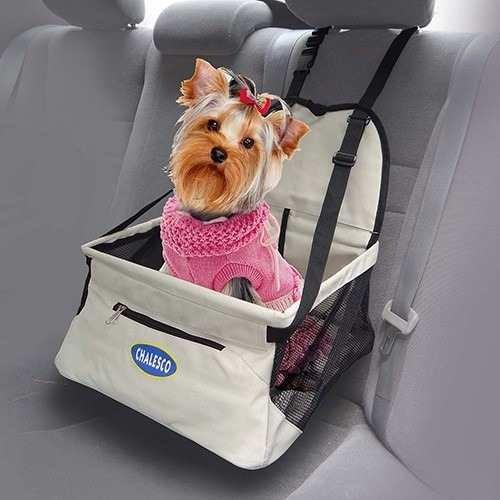 transporte cachorro gato assento para carro carseat chalesco