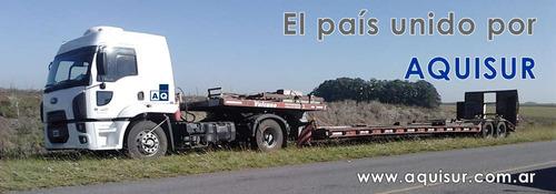 transporte carreton vial agricola contenedores semirremolque