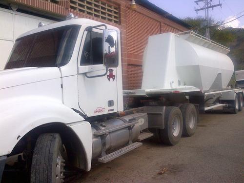 transporte cemento granel en tanque, servicio de bateas  ! !