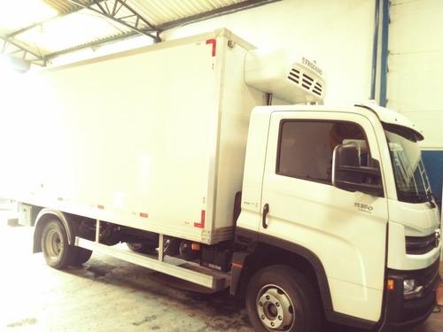 transporte com veículos refrigerados