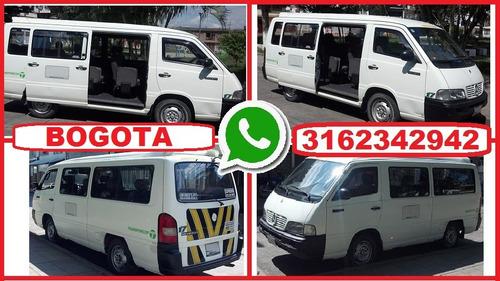 transporte de 16 pasajeros con conductor, alquiler vans