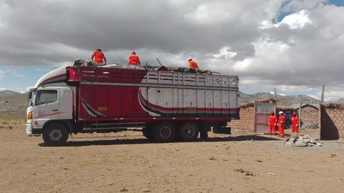 transporte de carga 2,5,10,18,32 toneladas