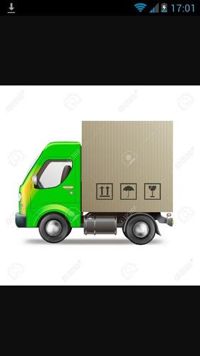 transporte de carga chasis largo furgon solo para empresas