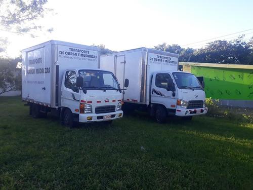 transporte de carga mudanzas camion cajon cerrado 8721 6781