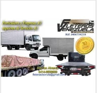 transporte de carga pesada, liviana  y mudanzas