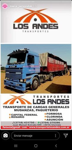 transporte de cargas generales, paqueterio y mudanzas
