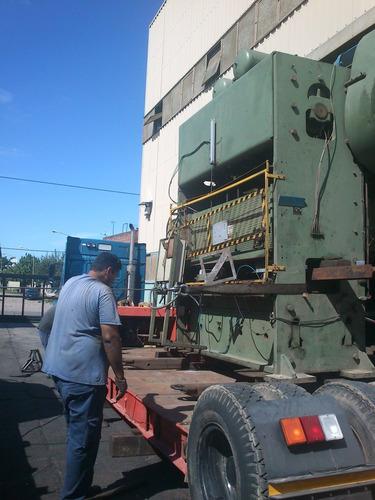transporte de maquinas. servicio de hidrogrua