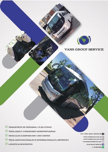 transporte de personal / alquiler de combi-minibuses-buses