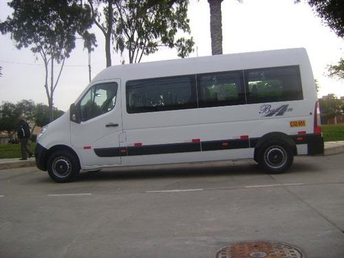 transporte de personal con 16 años de experiencia
