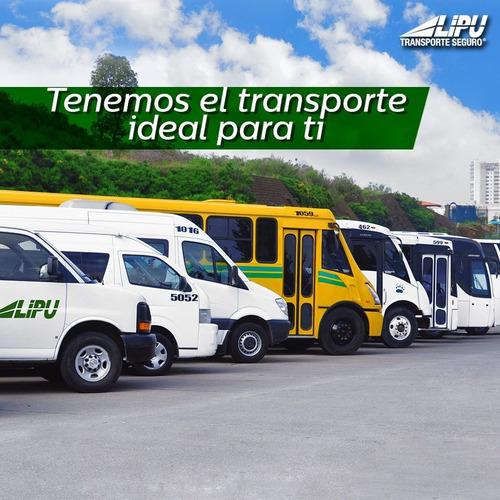 transporte de personal ::::::::renta de camionetas y buses