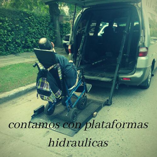 transporte de personas discapacitadas en silla de ruedas