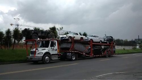 transporte de vehículos en niñera