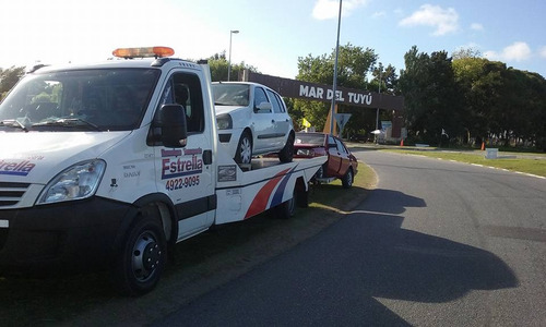 transporte de vehiculos- pinamar -gesell - carilo a  bs as