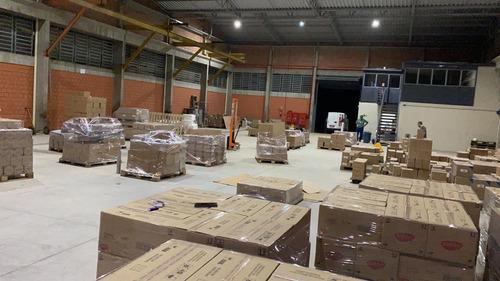 transporte e armazenamento de cargas