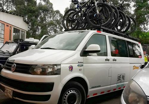transporte empresarial y turismo en bicicleta