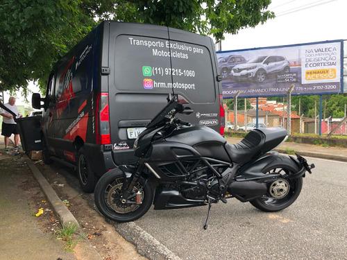 transporte especializado de moto e  moto socorro 24hs