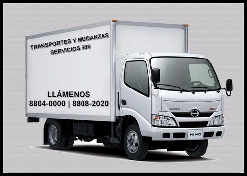 transporte mudanzas y fletes san josé - sabana - escazu