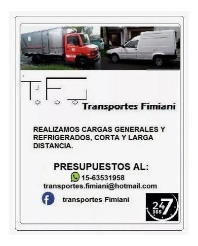 transporte refrigerado, minifletes, cargas generales, fletes