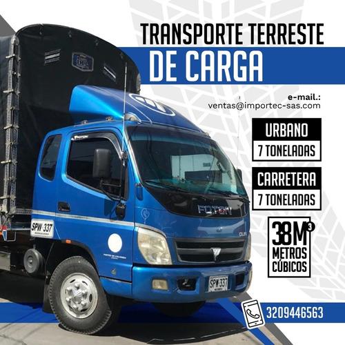 transporte terrestre a nivel local y nacional