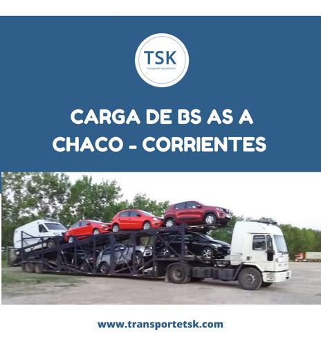 transporte / traslado de autos en mosquito